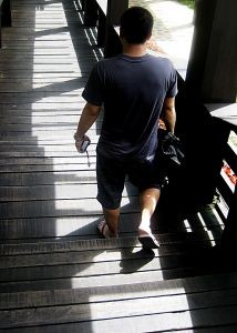 man-walking-down-the-stairs-1010915-m
